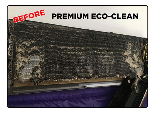 Air Conditioner Service Before Eco Clean