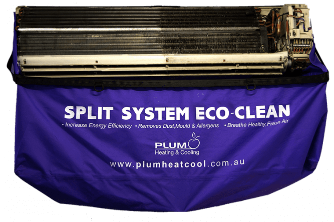 Plum Heating Cooling Eco Clean Premium Service
