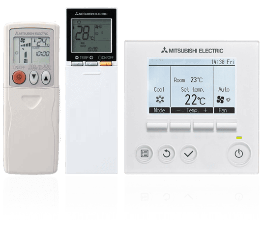 Mitsubishi-Air-Conditioner-Remote-Controls