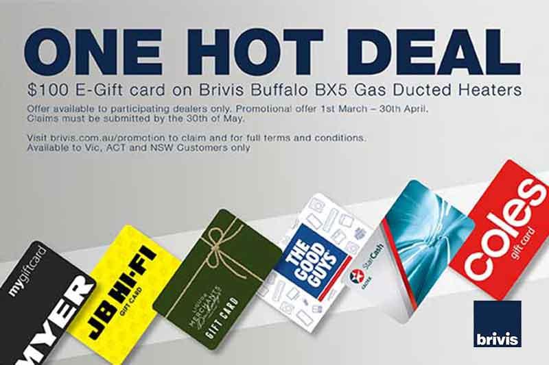 Brivis BX5 Gift Card