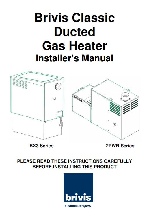 heating cooling installation manuals plum heating and cooling rh plumheatcool com au  brivis compact classic installation manual