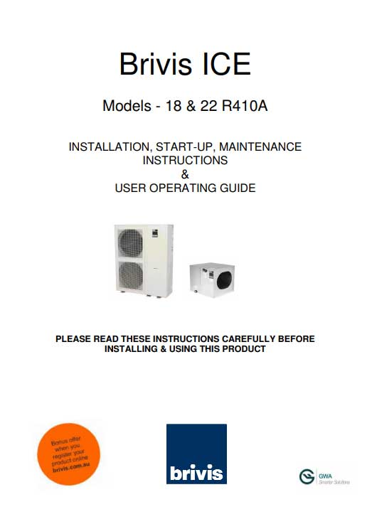 heating cooling installation manuals plum heating and cooling rh plumheatcool com au brivis buffalo installation manual brivis contour installation manual