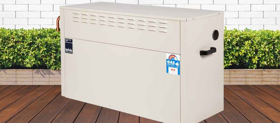 Brivis Gas Ducted Heating External