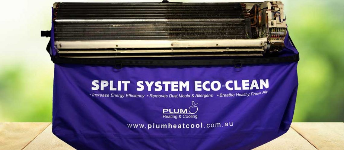 Split System Air Conditioning Service Eco Clean Item